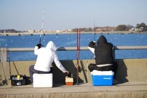 釣り防寒対策